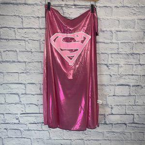 Pink Superman Cape